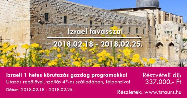 Izrael Tavasszal 2018